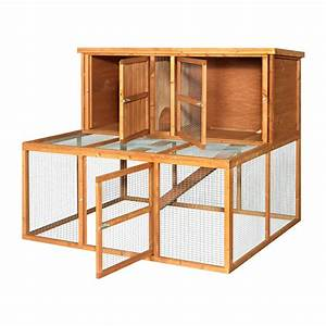 4ft Rabbit Hutch  U0026 Run Combo