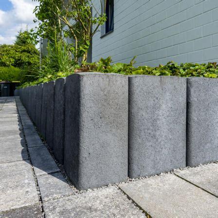 l steine 2m palisaden beton preise betonpalisaden selber setzen