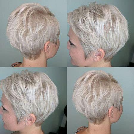 short ash blonde hair short hairstyles haircuts