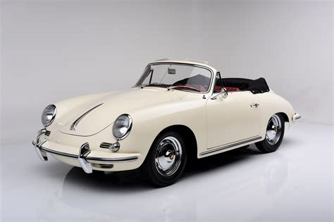 Barrettjackson To Sell Three Rare Porsche Convertibles