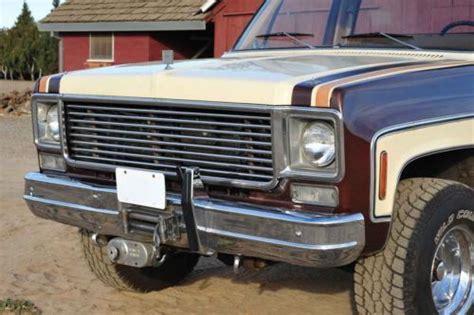 Find Used Sharp Original 1978 Chevy Silverado K10