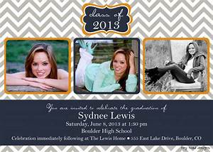 free printable graduation invitations make your own With senior announcement templates free