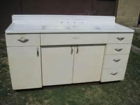 antique vintage youngstown kitchen cabinet sink base w basin sink 1950 s basin sink