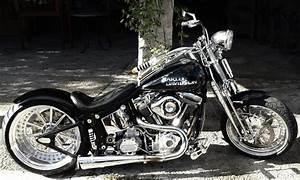 Harley-Davidson Softail / Springer Custom Chopper HU 2017 ...