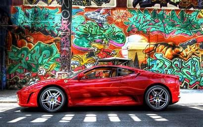 Graffiti Ferrari Tapety