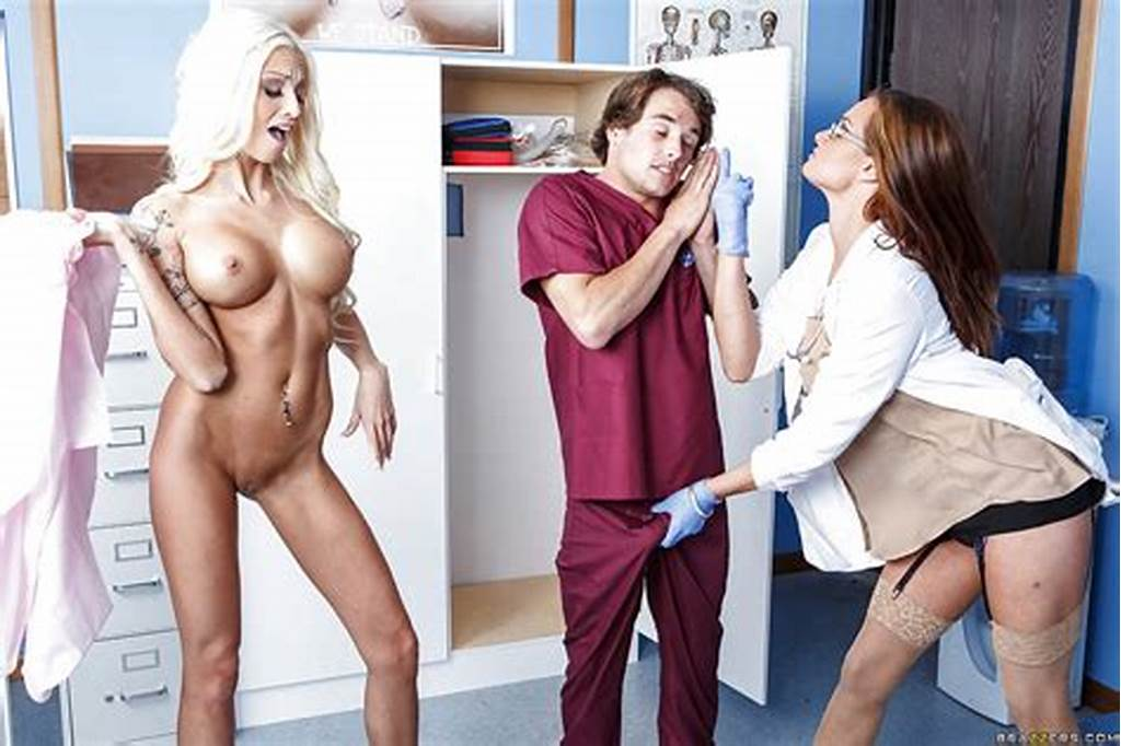 #Two #Classy #Nurses #Rikki #Six #And #Tory #Lane #Caught #Lucky