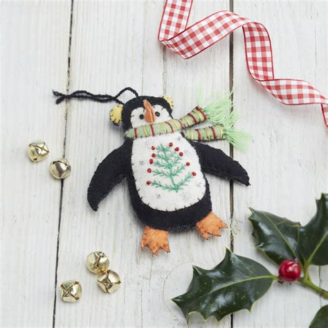 penguin christmas decoration by the christmas home