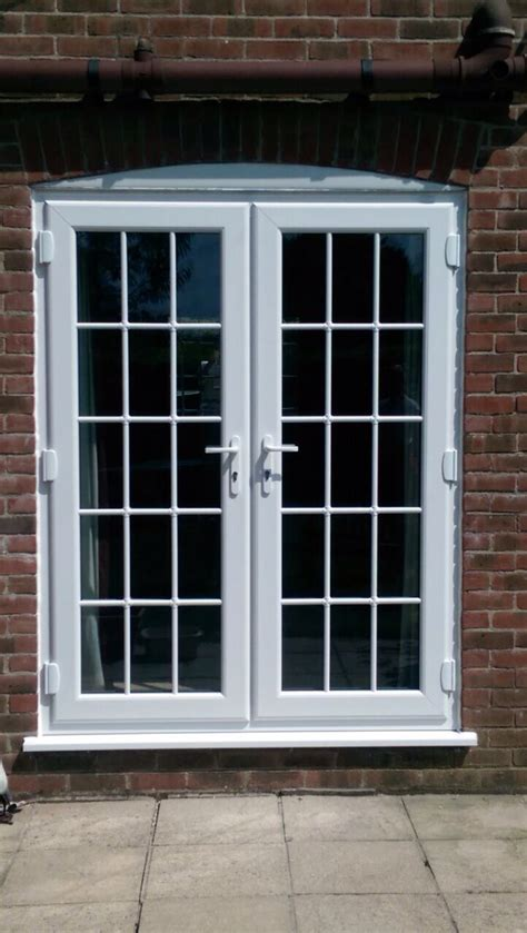 Upvc French Doors With Astragal Bars  Window Wizards