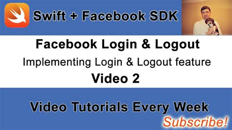 Facebook Login And Logout Button Example With Swift