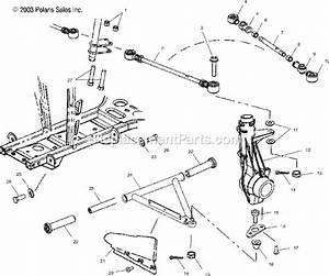 2002 Polaris Sportsman 700 Parts List