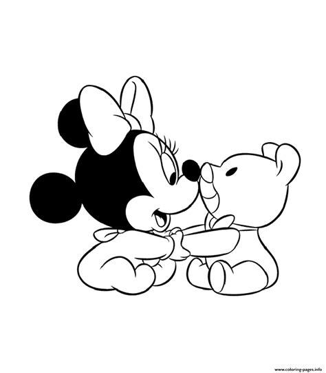baby minnie mouse sda coloring pages printable