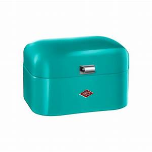 Wesco Single Grandy : wesco single grandy bread box turquoise wesco wesco ~ Frokenaadalensverden.com Haus und Dekorationen