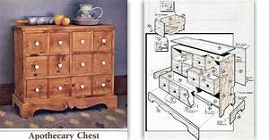 Apothecary Chest Plans • WoodArchivist