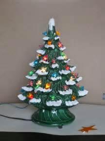 Antique Ceramic Christmas Tree