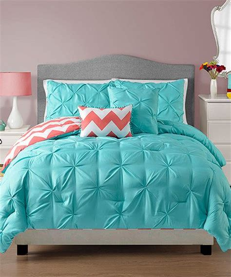 Teal And Coral Bedding  Kate's Room  Pinterest  The O
