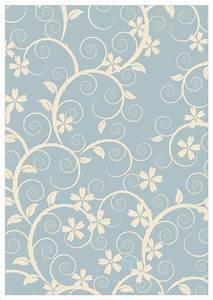 Vintage Cream Floral Ornament Design Printable Scrapbook ...