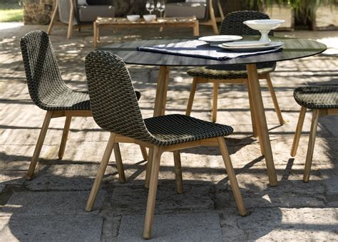 Garden Table Chairs by Garden Dining Chair Contemporary Garden Furniture