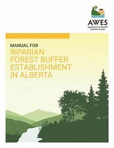 Manual For Riparian Forest Buffer Establishment In Alberta