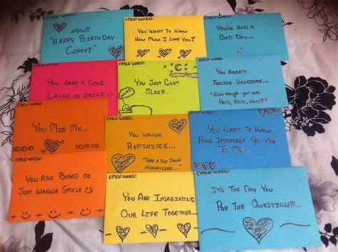Open When Love Letters For  Ee  Boyfriend Ee   As A Birthday