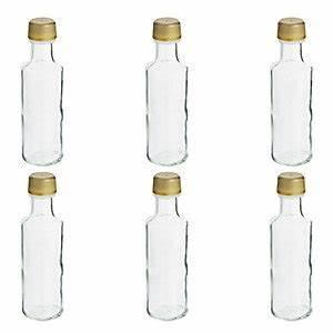 Glas Mit Schraubverschluss : 6 miniaturflaschen aus glas mit schraubverschluss 100 ml ~ A.2002-acura-tl-radio.info Haus und Dekorationen