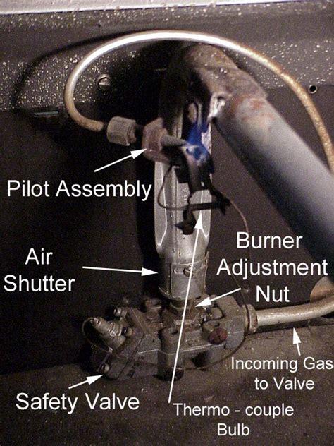 do gas dryers have pilot lights gasrangestpilot1 jpg 149562 bytes