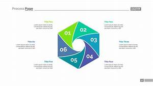 Cycle Diagram With Six Elements Template Vector