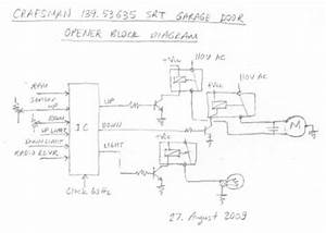 29 Craftsman Garage Door Opener Wiring Diagram