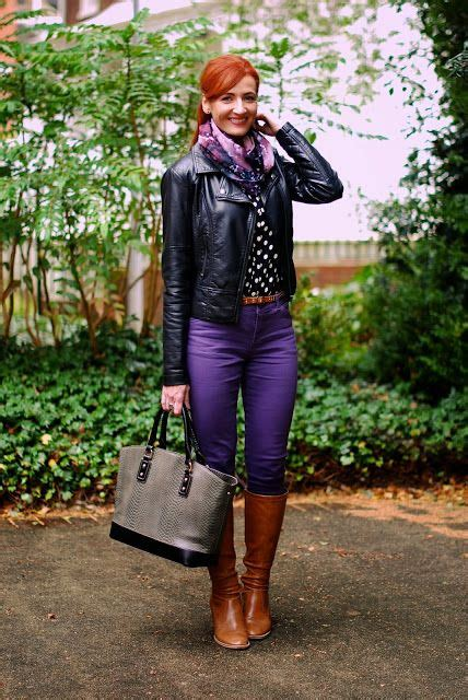 403 best images about How to wear my PURPLE pants on Pinterest | Purple Purple jeans and Lilacs