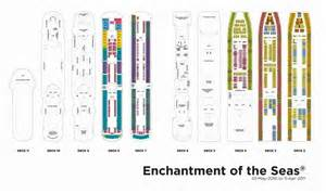 enchantment of the sea deck plan royal caribbean