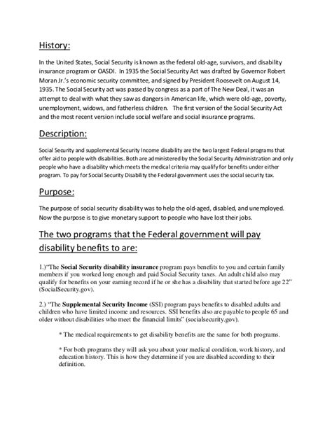 ssi benefit letter social security disability 24952