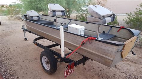 Boat Trailer Tires Phoenix Az by 14 Aluminum Boat And Trailer Classified Ads