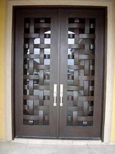 Tendencias en puertas de herreria (16) Decoracion de interiores Fachadas para casas como