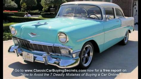how can i learn about cars 1956 chevrolet corvette lane departure warning 1956 chevy 210 classic muscle car for sale in mi vanguard motor sales youtube