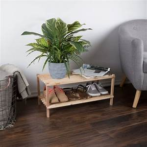 Wood, Shoe, Rack, Storage, Bench, Closet, Bathroom, Kitchen, Entry, Organizer, 2
