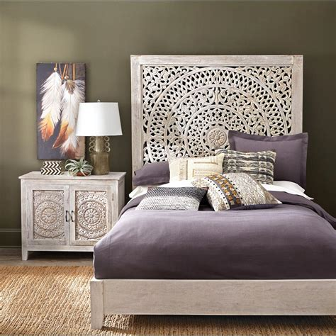 bedroom wall ls home depot home decorators collection chennai white wash queen