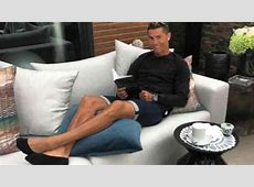 What book was Real Madrid's Cristiano Ronaldo reading?