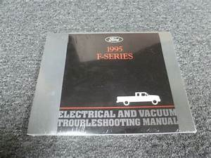 1995 Ford F250 Truck Electrical Wiring Diagrams Manual