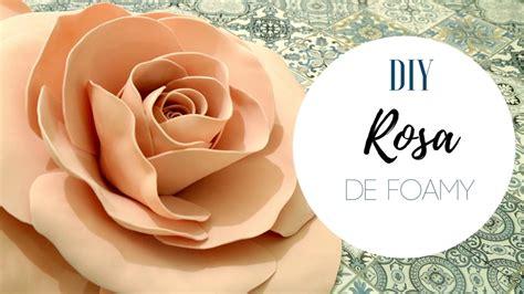 ROSA GRANDE DE FOAMY DECORACIÓN PARA EVENTOS BODAS XV