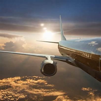 Travel Future Logistics Transport Mckinsey Airplane Clouds