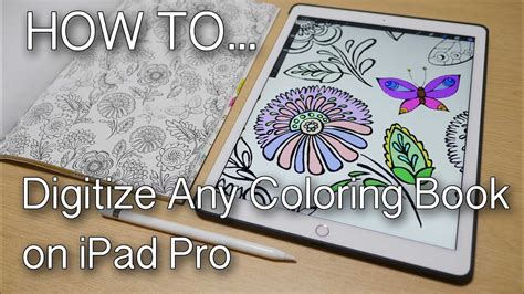 ipad painting coloring books youtube