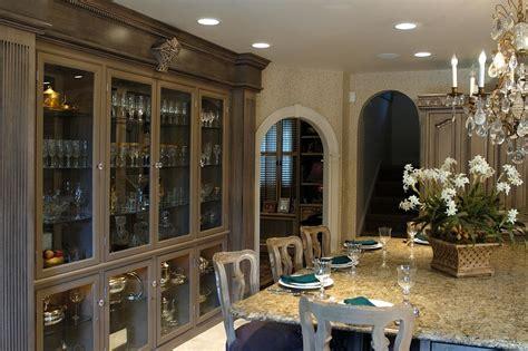 kitchen island china cabinet built in china cabinet kitchen island seating hgtv