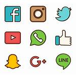Social Network Clipart Transparent Vector Icon Icons