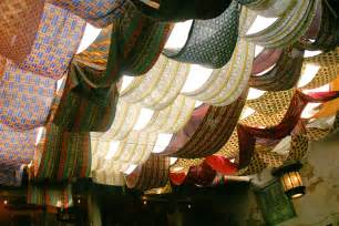 fabric draped ceiling a creative way to cover your unfinished basement ceiling diy