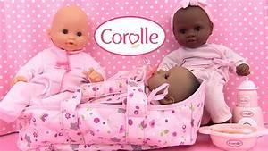 Bébé Corolle Youtube : corolle b b mon premier couffin poup e baby doll moses basket youtube ~ Medecine-chirurgie-esthetiques.com Avis de Voitures