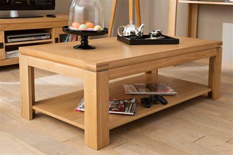 chambre nuit d amour table basse moderne en bois massif chene de hellin