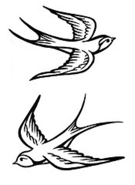 Swallow Tattoo Meaning | Ideas | Sparrow