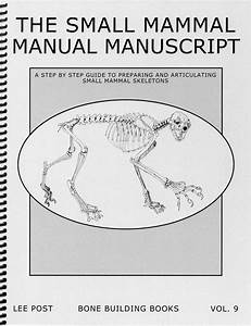 Bone Building Books  Volume 9  The Small Mammal Manual