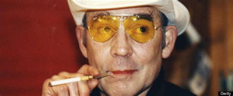 hunter  thompson quotes   weird  honor