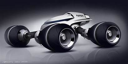 Sci Fi Vehicle Futuristic Rover Concept Lunar