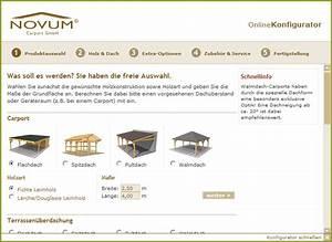 Carport Online Konfigurator : carports online konfigurieren ~ Sanjose-hotels-ca.com Haus und Dekorationen